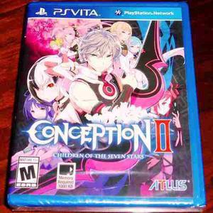 Videojuego Conception Ii Children Of The Seven Stars Ps Vita