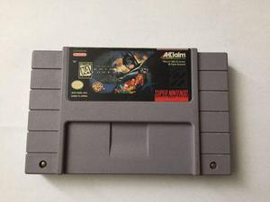 Videojuego Original Batman Forever Para Super Nintendo