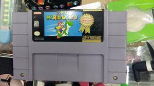 Videojuego Para Super Nintendo Super Mario World