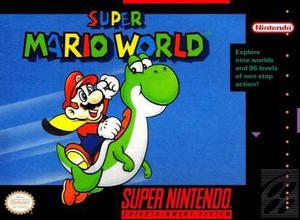 Videojuego Super Mario World Para Super Nintendo