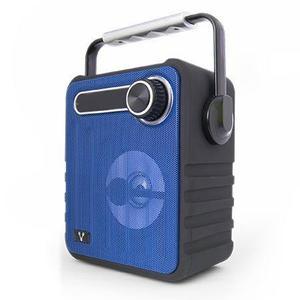 Vorago Bocina Portatil Recarga Bluetooth Usb Aux Azu Bsp-200