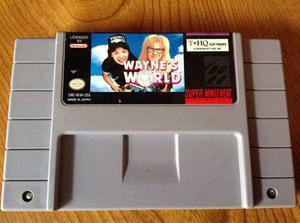 Waynes World Súper Nintendo Snes Cartucho Juego