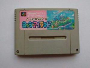 Yoshis Island Famicon Para Snes Super Nintendo Americano