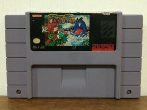 Yoshi´s Island Para Super Nintendo / Snes Excelente Estado