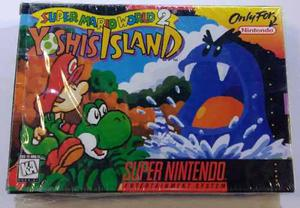 Yoshi's Island Super Nintendo Snes Completo Retromex Tcvg