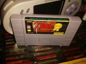 Zelda A Link To The Past Super Nintendo Snes Cartucho