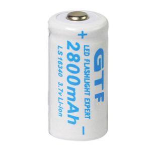 10 Bateria Pila Recargable Cr123,16340 + 4 Cargador Doble
