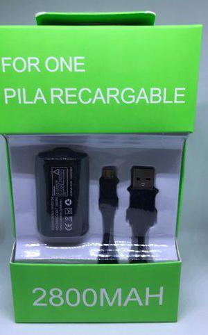 10 Kit Batería Recargable Carga Y Juega Para Xbox One Pila
