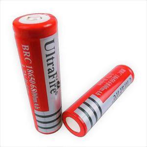 2 Baterias Pilas Ultrafire Mod.18650 De 6800 Mah 3.7v