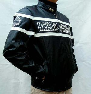 2 Chamarra Tipo Harley Davidson (para La Pareja)