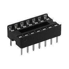 Base Socket Para Circuito Integrado 14 Pines Cdmx Electróni