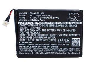 Bateria Pila Acer Iconia B1-a71 Tab B1 B1-710