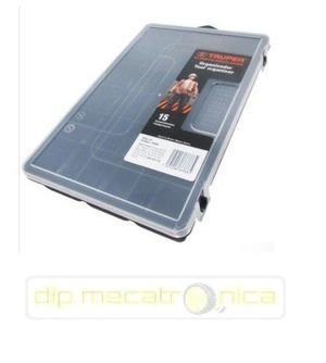 Caja Organizadora Con 15 Compartimentos Truper 19896 Arduino