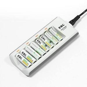 Cargador Baterías-pilas Aa/ Aaa Y 8 Pilas Recargables Nimh