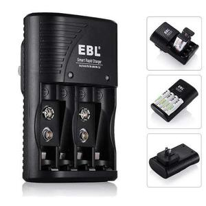 Cargador De Baterias, Super Rapido, Aa, Aaa Y 9v Recargables