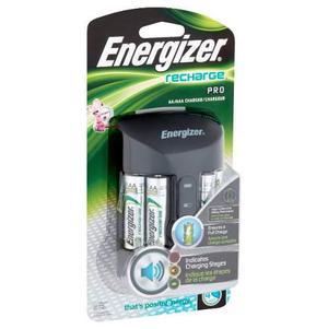 Cargador Energizer Pilas Pro Aa/aaa 4 Baterias Xtr P