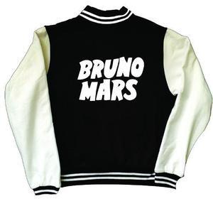 Chamarra Bruno Mars Tipo Universitaria