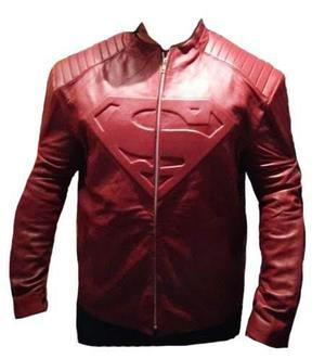 Chamarra De Piel | Smallville Superman