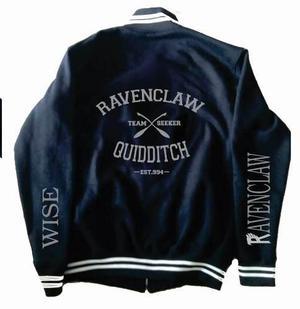 Chamarra Ravenclaw Harry Potter Tipo Universitaria Deluxe