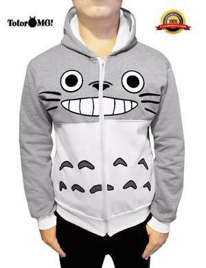 Chamarra Sudadera Totoro Talla Grande Anime Kawaii De Moda