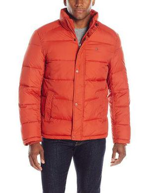 Chamarra Tommy Hilfiger - Nylon Puffer - Varios Colores