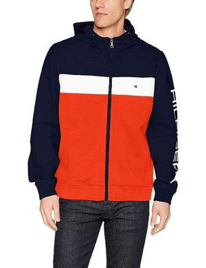 Chamarra Tommy Hilfiger - Retro Colorblocked Hooded