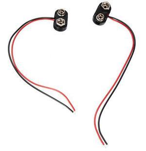 Conector De Bateria De 9v Con Cable Cdmx Electrónica