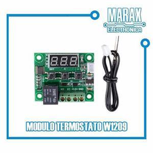 Control De Temperatura W1209 Termostato Digital 12v Arduino