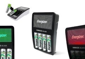Energizer Cargador 4 Baterias Aa/aaa Recargables Pilas Xtm C