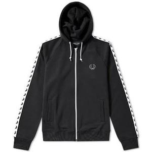 Fred Perry Hooded Taped Track Jacket J9520 S L
