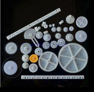 Juego De Engranes De Plástico, 34 Piezas