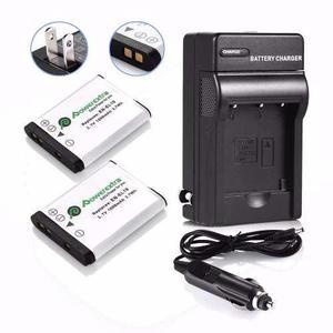 Kit 2 Baterias + Cargador En-el19 Nikon Coolpix S3100 S4100