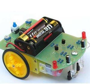 Kit Carro Robot Educativo Seguidor De Linea Negra Arduino