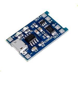 Módulo Cargador De Batería De Litio Lipo (entrada Micro