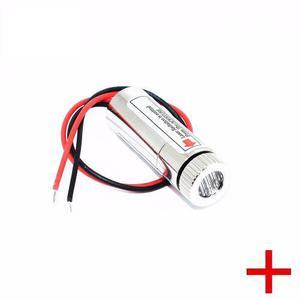 Módulo Laser Rojo 5 Mw 650 Nm 5v Cruz Con Lente Enfocable