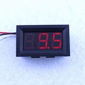 Mini Voltímetro Digital 0v-30v De Precisión 3 Cables