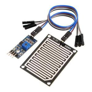 Modulo Sensor De Lluvia Para Arduino, Pic Domotica