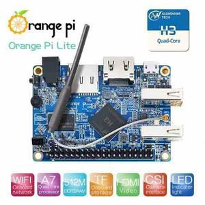 Orange Pi Lite Quad Core 1.2 Ghz 512 Mb Ddr3 Wifi Retropie
