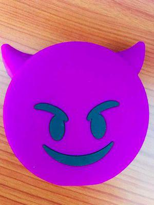 Pila Portátil Emoji Diablo Cargador Power Bank 3000 Mah