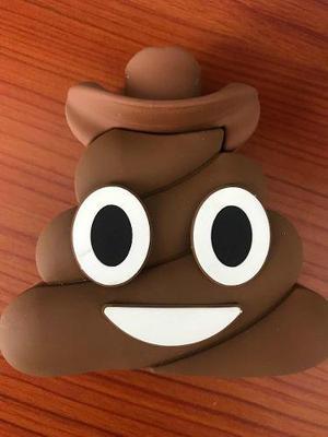 Pila Portátil Emoji Popo Cargador Power Bank 3000 Mah
