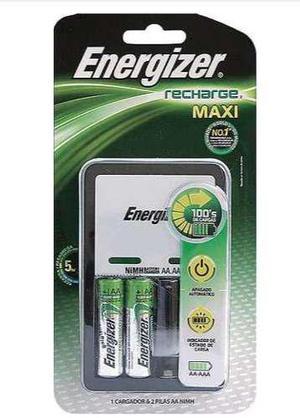Recargables Baterias Aa/aaa Cargador Energizer 2 Pilas Xtr P