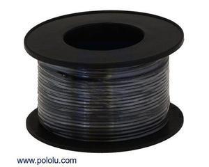 Rollo De Cable Awg Calibre 24 De 18 Metros Jumper Arduino