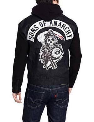 Sons Of Anarchy Chamarra Para Caballero Talla M. Harley Ed H