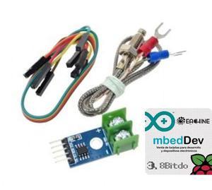Termopar Tipo K + Modulo Max6675 Arduino