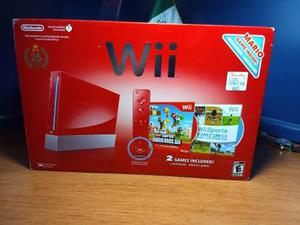 Wii Edición Mario 25 Aniversario Con 2 Controles Y 4 Juegos
