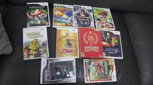 10 Juegos Wii Negociable, Dragon Ball Z Budokai 3,zelda