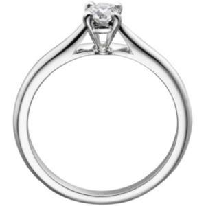 Anillo De Compromiso Con Diamante Natural De.20 Cts