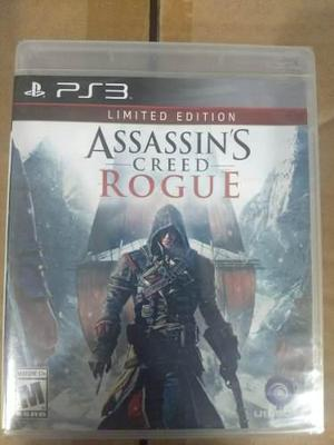 Assassins Creed Rogue Limited Edition.-ps3
