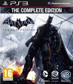 Batman Arkham Ultimate Collection Ps3 Todos Los Juegos +rega