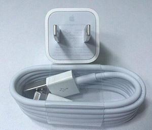 Cable Usb + Cargador De Pared Original Apple Iphone C/envio!